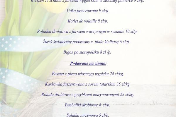Oferta Wielkanocna :)